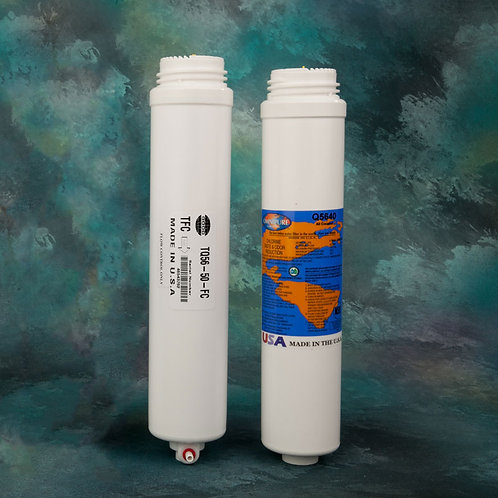 #3–RO Membrane TFC 50 GPD and #4–Carbon Post Filter