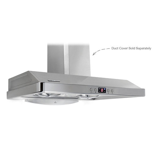 "PacAir Range Hood - EL Series 36"" Brushed Stainless"