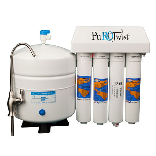 4 Stage PuROTwist Reverse Osmosis Complete Systems