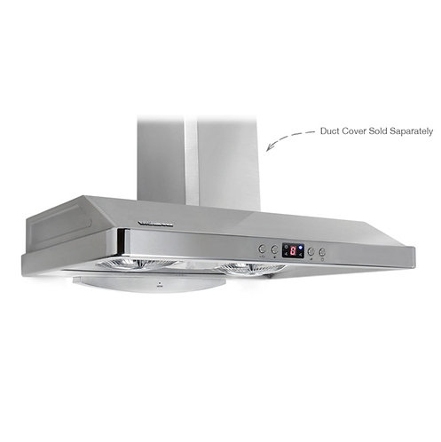 "PacAir Range Hood - EL Series 30"" Brushed Stainless(Store Pick Up Only)"