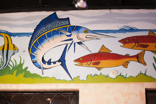 Seafood Painting