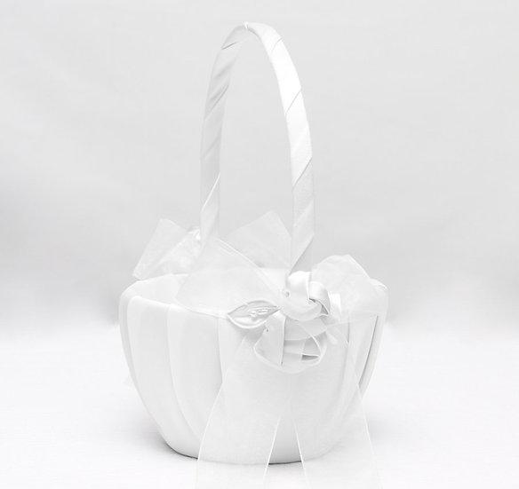 Amour Flower Girl Basket