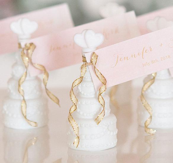 Wedding Cake Bubbles (Set of 24)