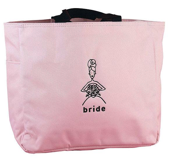 Bride PINK tote bag