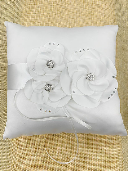 Ring Pillow and Guest Book Pen Set