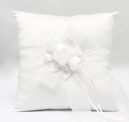 Amour Wedding Ring Bearer Pillow
