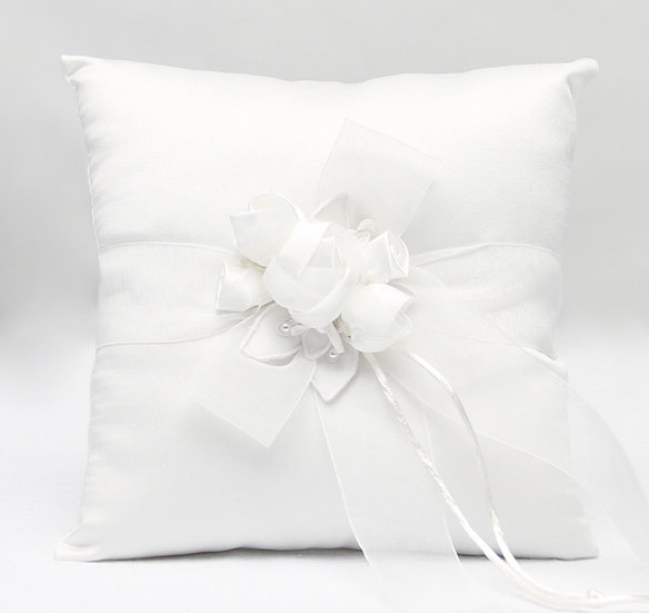 Amour Wedding Ring Bearer Pillow