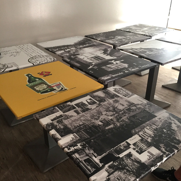 Tavolini personalizzati