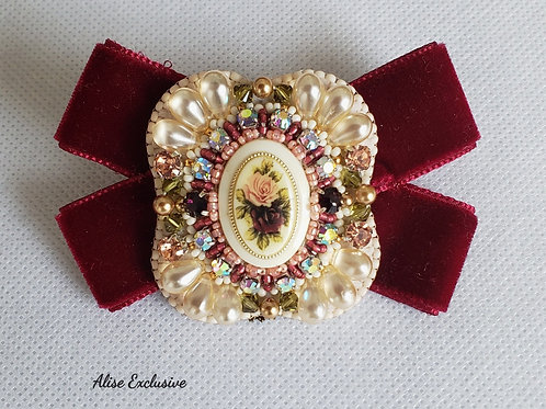 Victorian Style Brooch With Bow