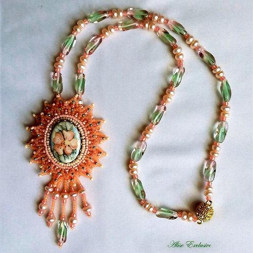 Orange Summer Necklace