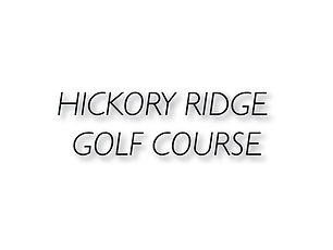 Hickory Ridge Golf Course