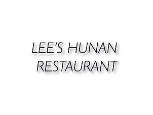 Lee's Hunan Restaurant