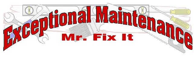 Exceptional Maintenance
