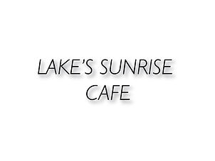 Lake's Sunrise Cafe