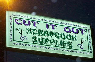 Cut It OutScrapbook Supplies