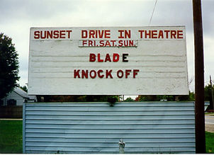 Sunset Dive In Theater