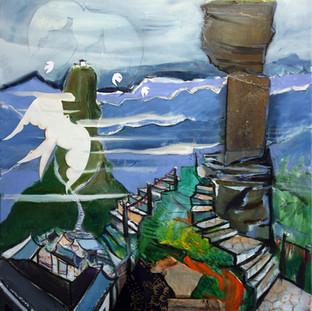 Art work Inspired in China Stephen Grima 2018
