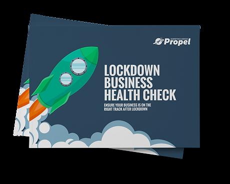 Lockdown Business Health Check book cove