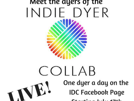 The Indie Dyer Collaborative Live Sessions!