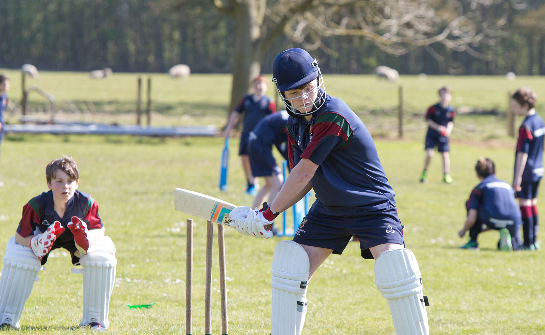 Scarisbrick Hall Cricket 1