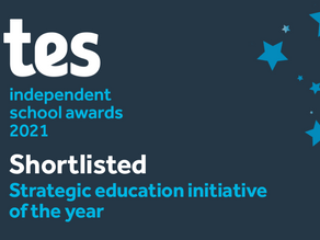 Scarisbrick Hall School - Shortlisted at the Tes Independent School Awards 2021