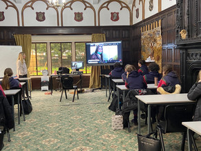 Scarisbrick Hall School students join students in Pakistan for a live lesson