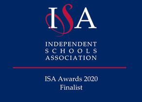 Scarisbrick Hall School has been shortlisted for ISA Award