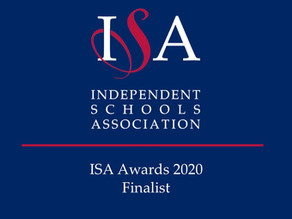 Scarisbrick Hall School has been shortlisted for ISA Award