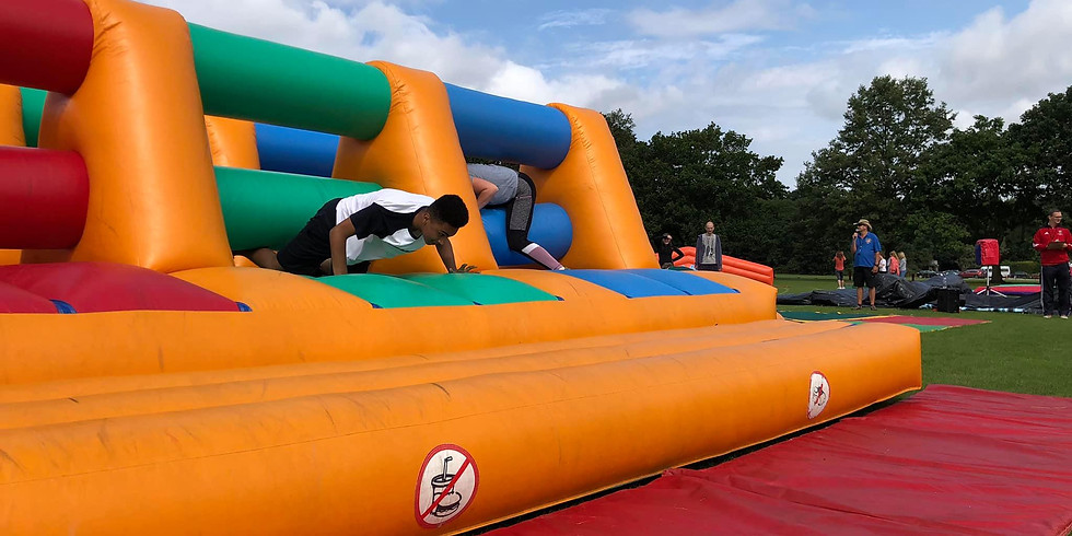 It's a Knockout Team challenge
