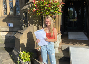 Well done to the Class of 2020 on their GCSE results and good luck for the future.