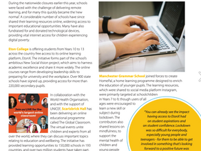 Scarisbrick Hall School are delighted to be featured in this month's ISC