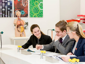 What is the Scarisbrick Hall School 'Pre-University' experience?