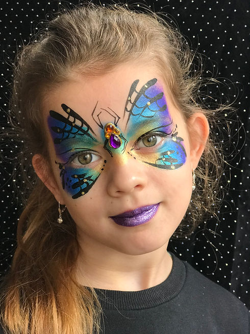 De Schminksalon, vlinder.JPG