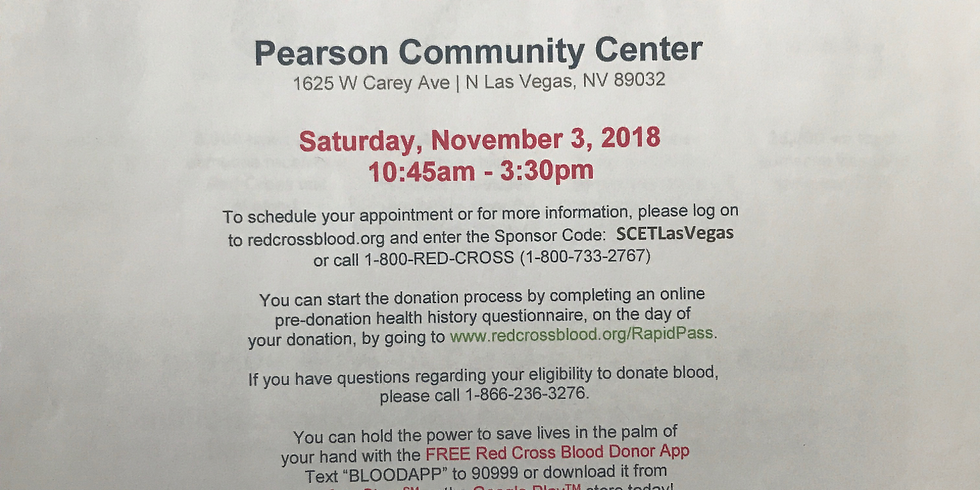 Blood Drive - Sickle Cell Empowerment Team/ DreamSickle/ Dash for Donors