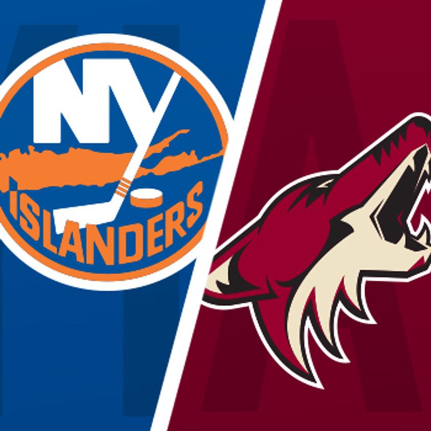 Military Members, Veterans & Family: AZ Coyotes v NY Islanders