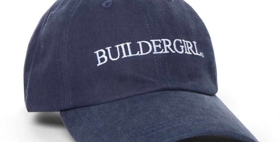 Navy Buildergirl Hat