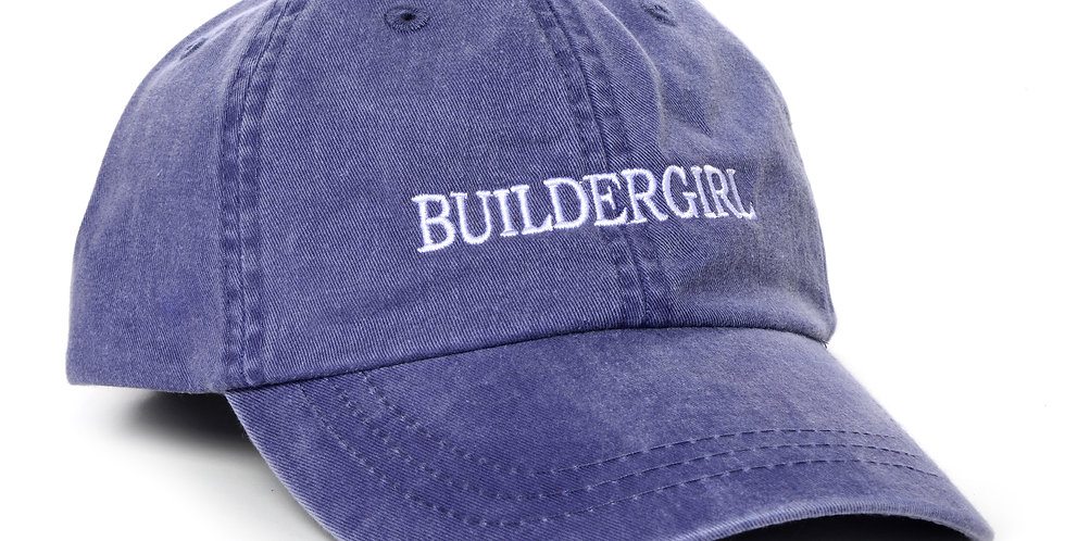 Indigo Buildergirl Hat