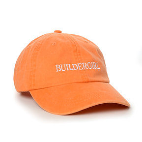 Orange Buildergirl Hat