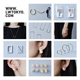 """L.W was start to selling at """"MINA-TO"""" in SPIRAL aoyama."""