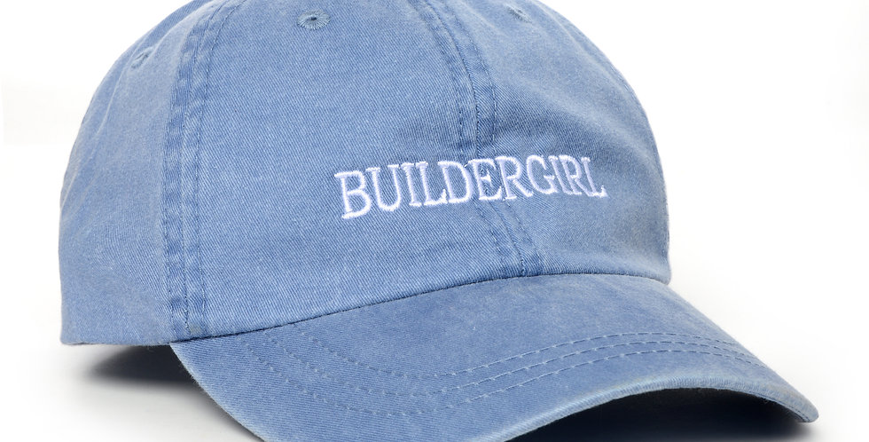 Washed Denim Buildergirl Hat