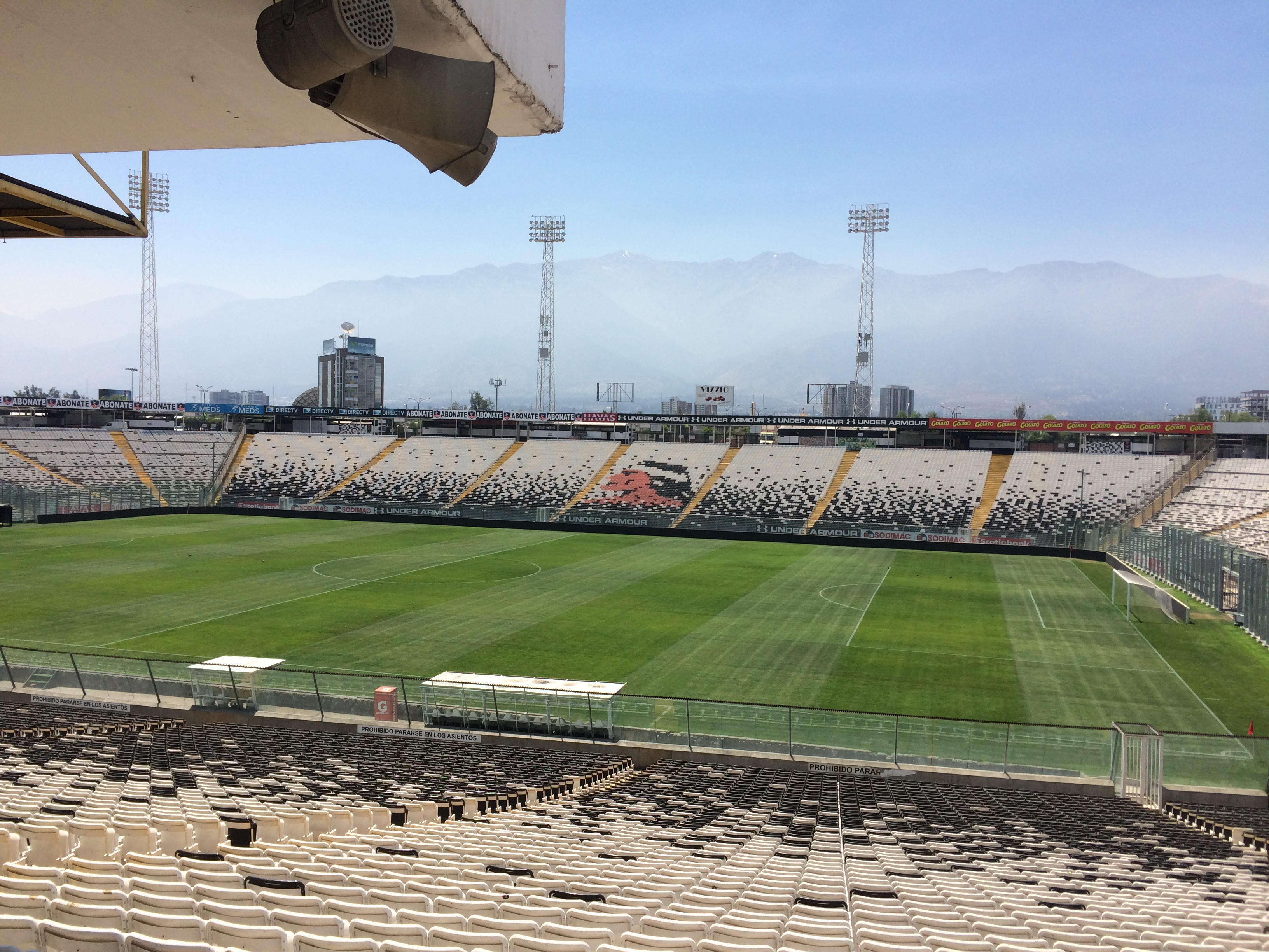 ESTADIO MONUMENTAL COLO COLO