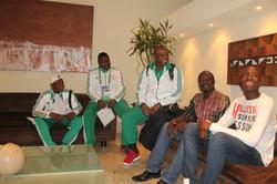 DELEGAÇÃO NIGERIA COPA 2014