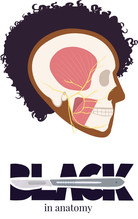 Black in Anatomy Logo
