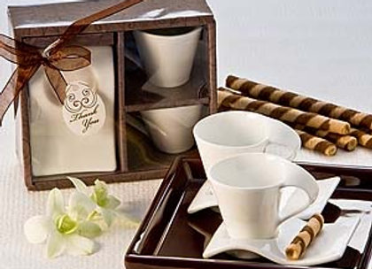 Swish Biscotti Espresso Set