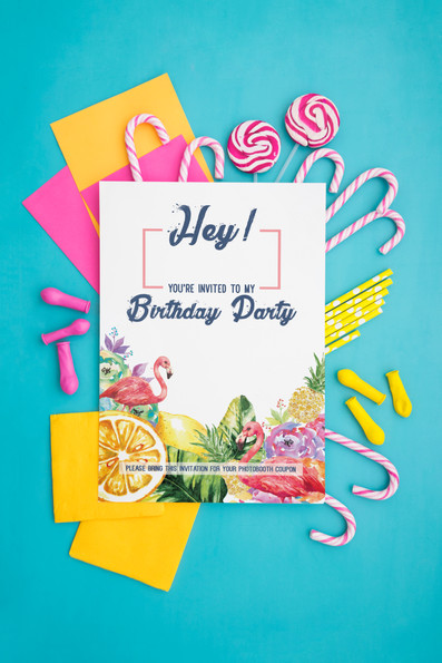 Sweet Seventeen Invitation