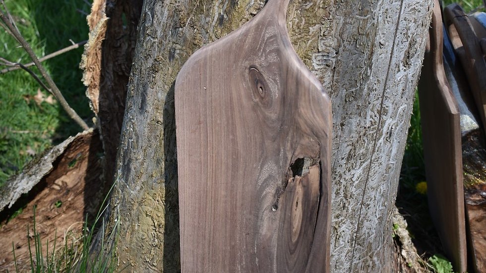 Beautiful Walnut Charcuterie Board