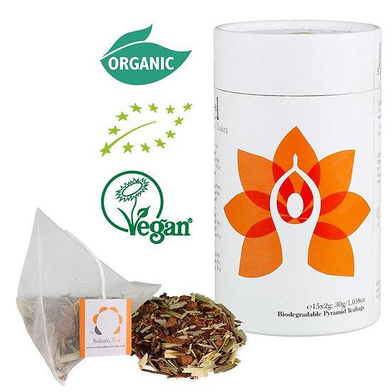 I Feel - Sacral Chakra Organic Pyramid Teabags