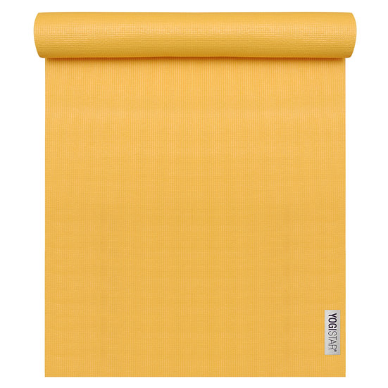 Yogistar® Basic Yoga Mat Mandarin - Yellow