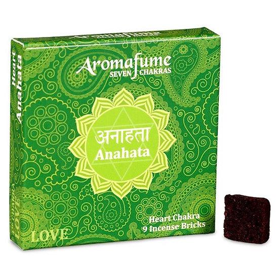 Aromafume Chakra incense bricks 4th chakra