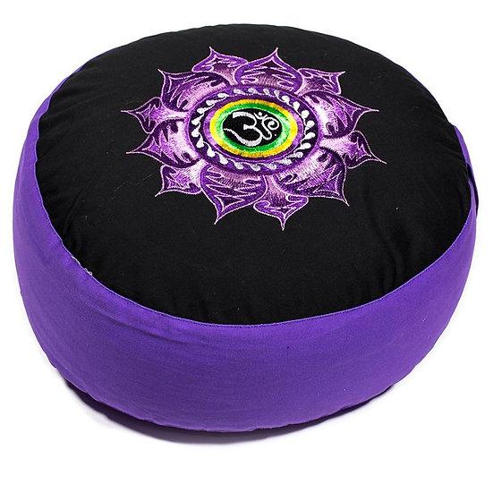 Meditation Cushion Lotus & Ohm